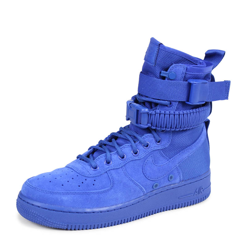 watch b7723 27d1e NIKE SPECIAL FIELD AIR FORCE 1 Nike air force 1 sneakers men special field  864,024-401 SF AF1 blue [2/17 Shinnyu load] [182]