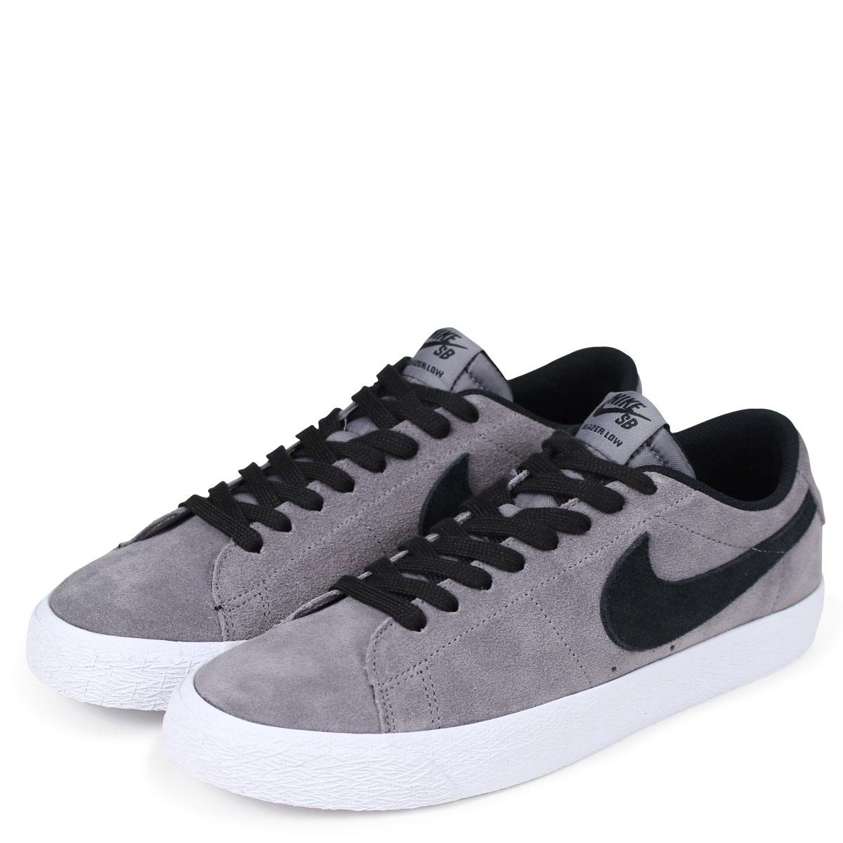 innovative design d25f4 224b7 NIKE BLEAZER LOW Nike SB blazer low sneakers men 864,347-003 black [4/13  Shinnyu load] [184]