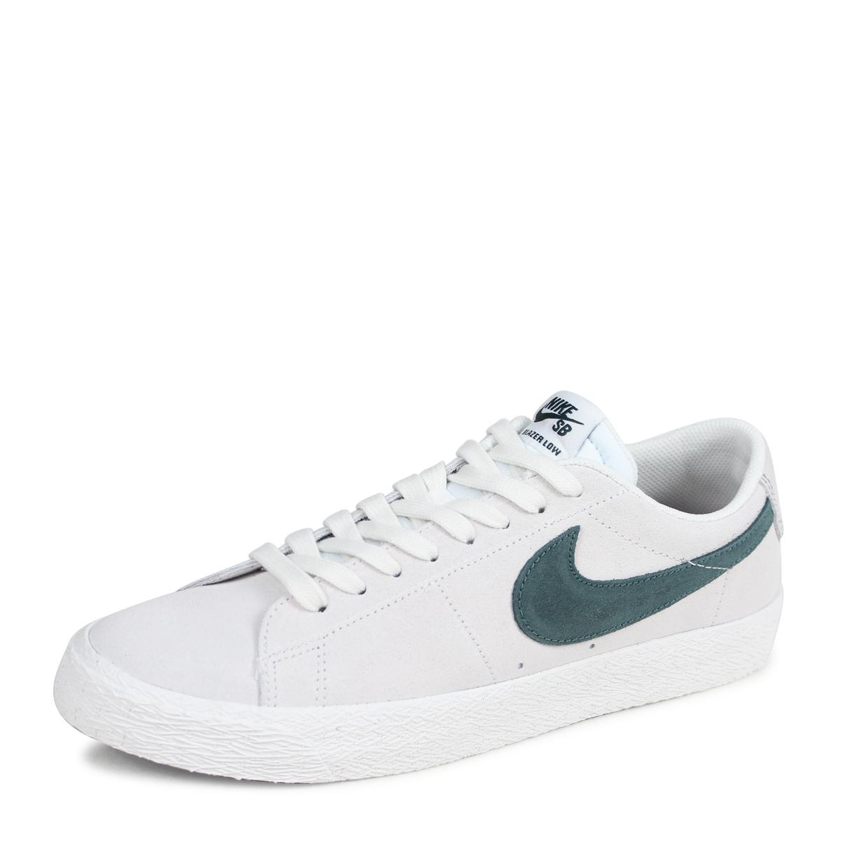 watch 0f5c1 6bcb0 ... NIKE BLAZER ZOOM LOW Nike SB blazer low sneakers men 864,347-101 off- white ...