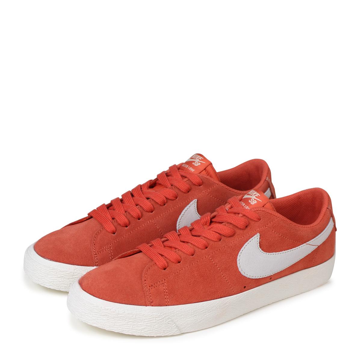 huge discount 9c740 a42b2 An NIKE BLAZER ZOOM LOW Nike SB blazer low sneakers men 864,347-800 orange  ...