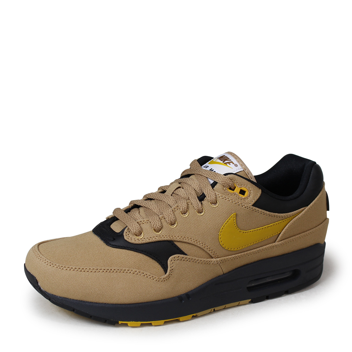huge discount 3855e 66489 NIKE AIR MAX 1 PREMIUM Kie Ney AMAX 1 premium sneakers men 875,844-700  beige  load planned Shinnyu load in reservation product 5 18 containing    185