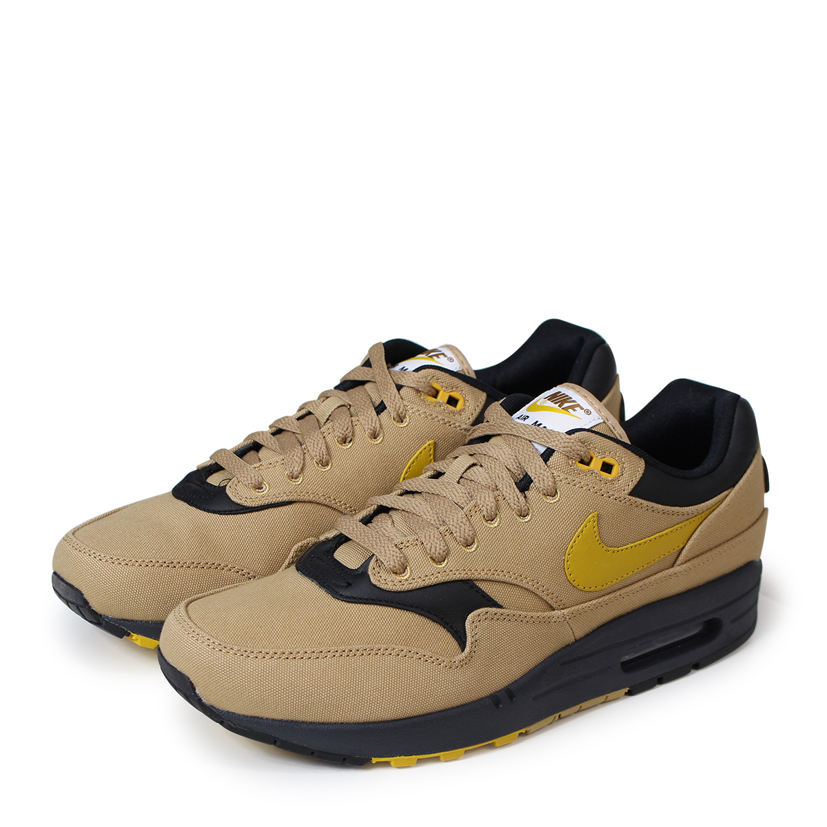 check out 2baa0 996ce ALLSPORTS  NIKE AIR MAX 1 PREMIUM Kie Ney AMAX 1 premium sneakers men  875,844-700 beige  load planned Shinnyu load in reservation product 5 18  containing  ...