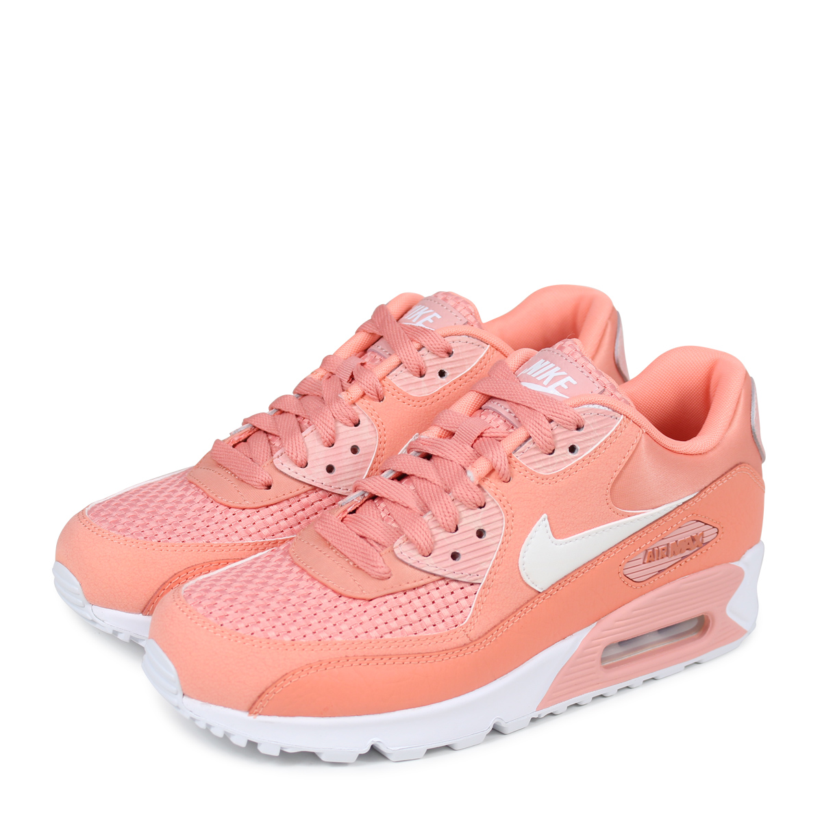 NIKE WMNS AIR MAX 90 SE Kie Ney AMAX 90 Lady's sneakers 881,105 604 pink [load planned Shinnyu load in reservation product 512 containing] [185]