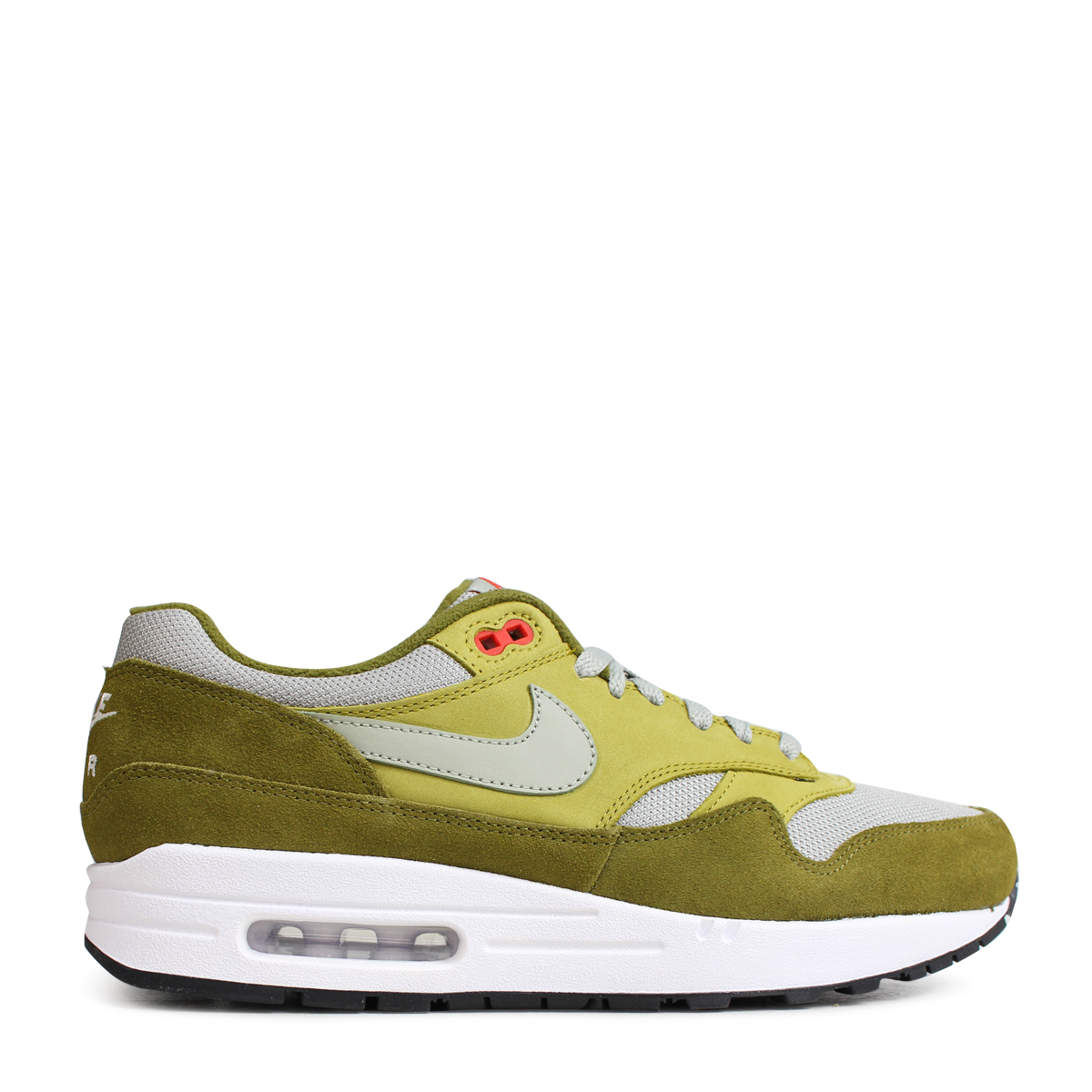 SALE NIKE AIR MAX 1 GREEN SUEDE CURRY PACK OLIVE FALK 908366