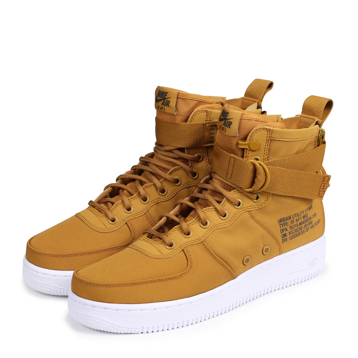 buy popular d3d42 e4ad3 NIKE SPECIAL FIELD AIR FORCE 1 MID Nike air force 1 sneakers men special  field 917,753-700 SF AF1 brown [load planned Shinnyu load in reservation ...