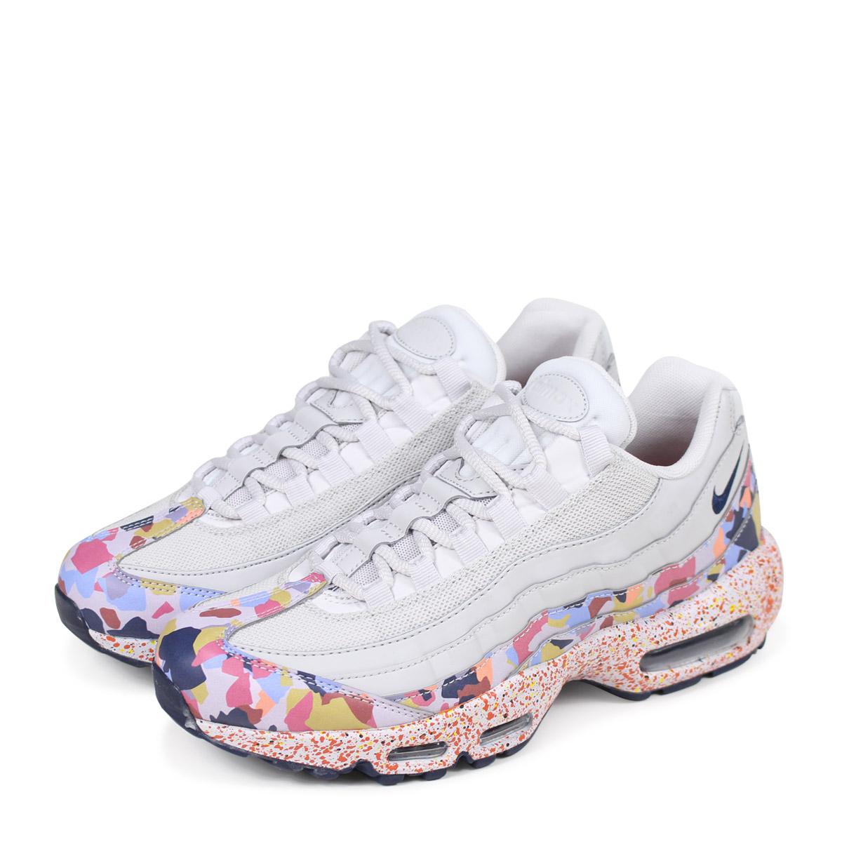 1a4867369d NIKE WMNS AIR MAX 95 SE Kie Ney AMAX 95 lady's men's sneakers 918,413-004  ...