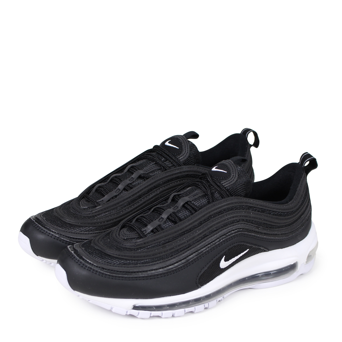 NIKE AIR MAX 97 SNEAKER LOW BLACKBLACK WHITE