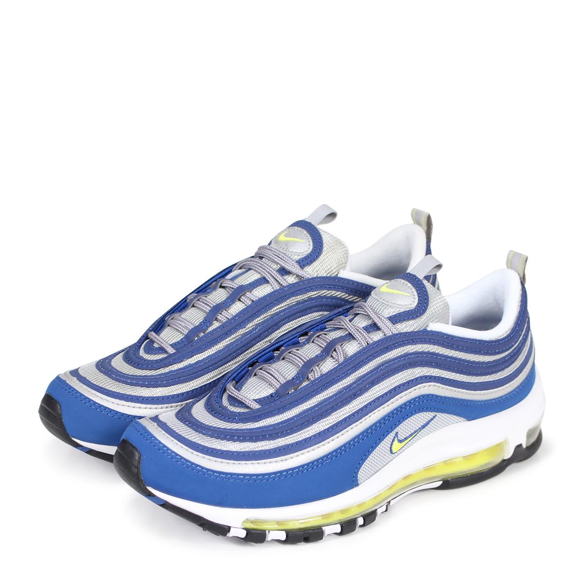 473dc6b31f NIKE AIR MAX 97 ATLANTIC BLUE Kie Ney AMAX 97 sneakers men 921,826-401 blue  ...