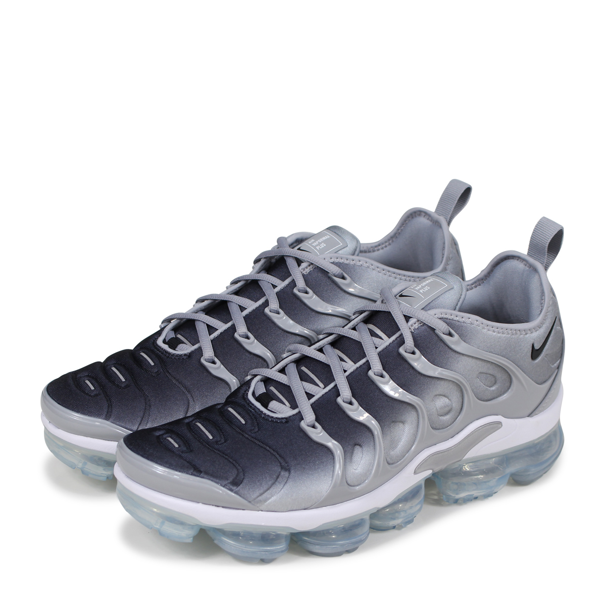 size 40 f815b 85237 NIKE AIR VAPORMAX PLUS Nike air vapor max plus sneakers men 924,453-007  gray [load planned Shinnyu load in reservation product 5/12 containing]  [185]