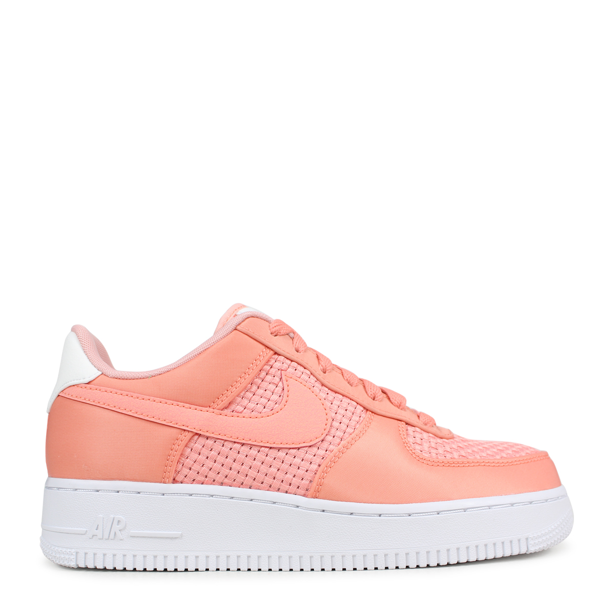 new arrival ed2b3 ab64d NIKE WMNS AIR FORCE 1 SE Nike air force 1 07 lady s sneakers AA0287-601  pink  load planned Shinnyu load in reservation product 5 9 containing   185