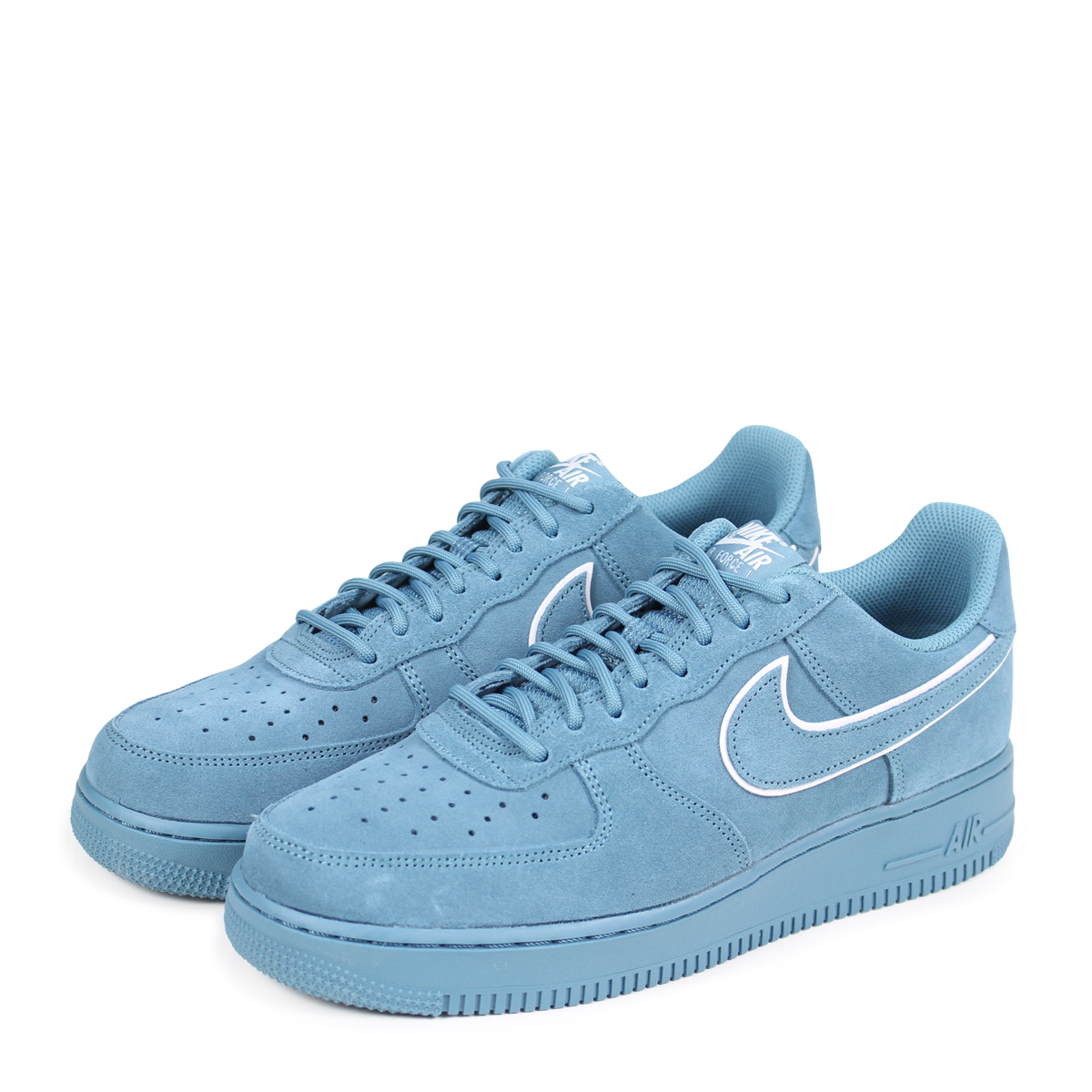 NIKE AIR FORCE 1 SUEDE Nike air force 1 07 LV8 sneakers men AA1117,400 blue  [load planned Shinnyu load in reservation product 3/30 containing] [183]