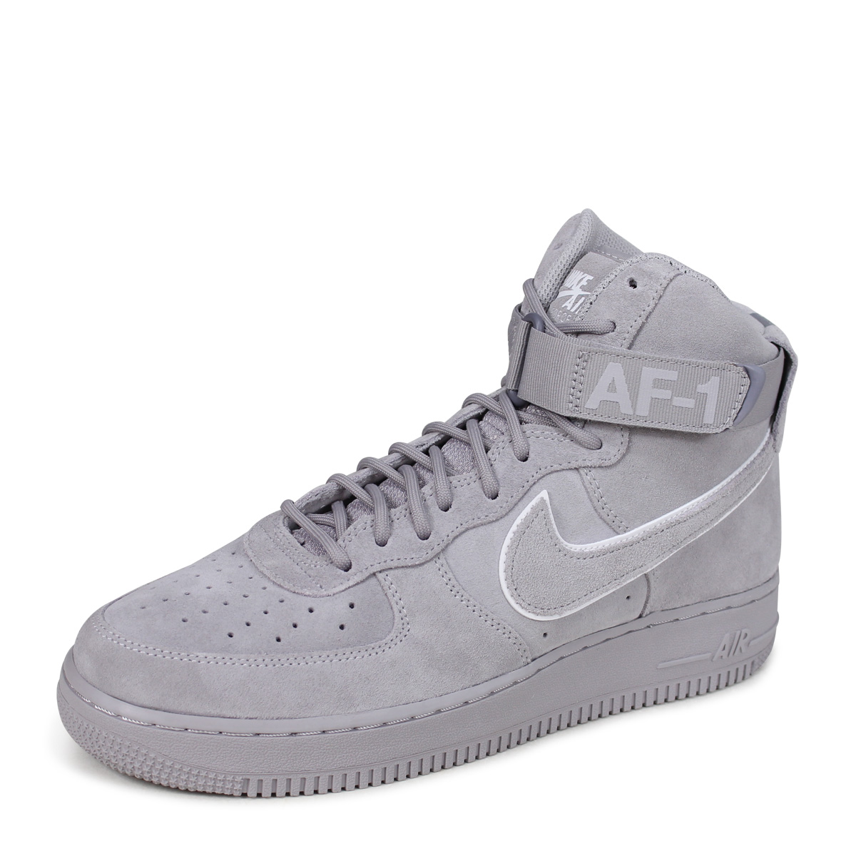 NIKE AIR FORCE 1 07 LV8 HIGH Nike air force 1 sneakers men AA1118-003 gray  [load planned Shinnyu load in reservation product 6/15 containing] [186]