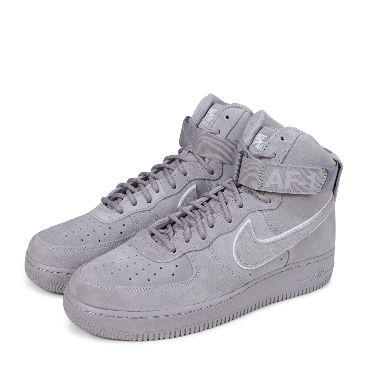 b42c3aea535 NIKE AIR FORCE 1 07 LV8 HIGH Nike air force 1 sneakers men AA1118-003 gray  [load planned Shinnyu load in reservation product 6/15 containing] [186]