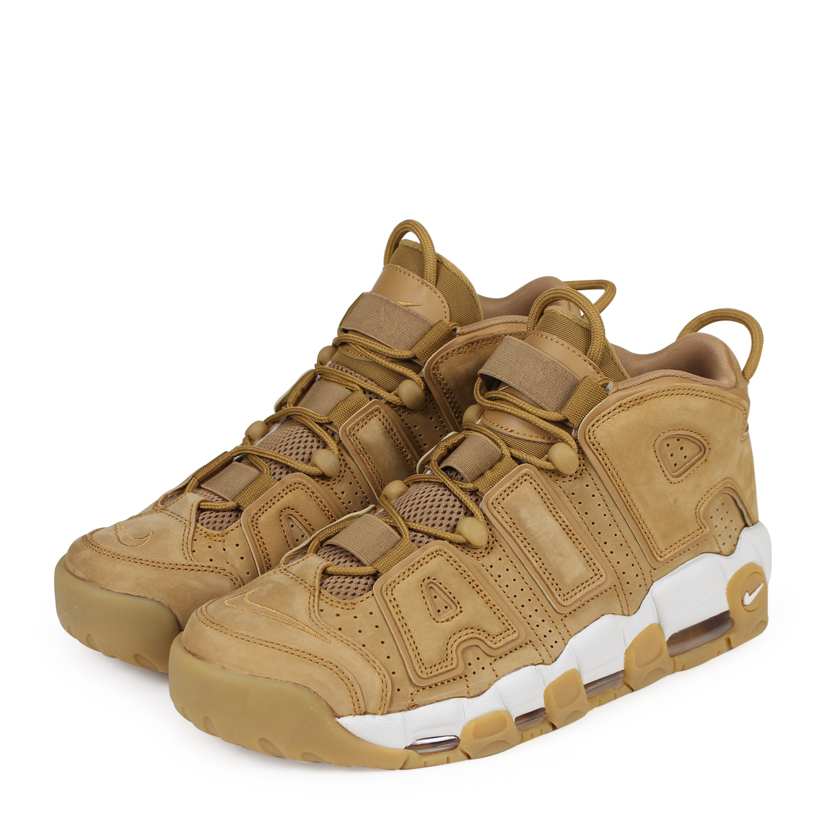 7167bd54f0 NIKE AIR MORE UPTEMPO 96 PREMIUM Nike air more up tempo sneakers men  AA4060-200 ...