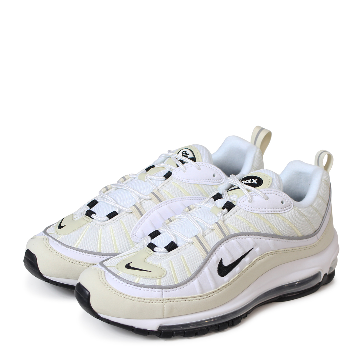 b417158766 ALLSPORTS: NIKE WMNS AIR MAX 98 Kie Ney AMAX 98 sneakers men AH6799-102  white [load planned Shinnyu load in reservation product 5/18 containing]  [185] ...