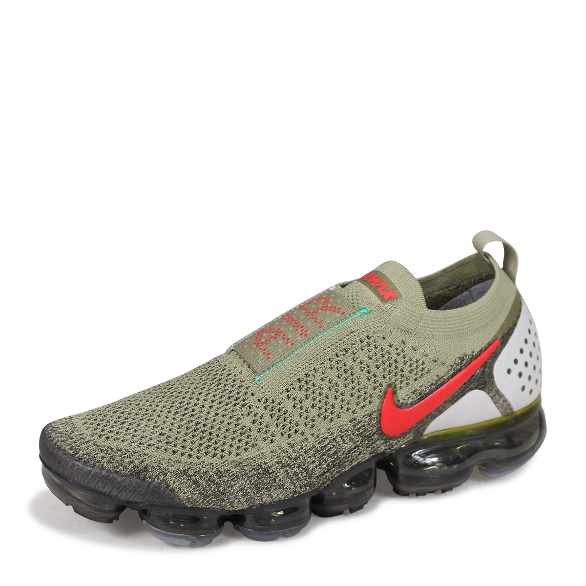 2258605b095e9 NIKE AIR VAPORMAX FK MOC 2 Nike air vapor max fried food knit 2 sneakers  men AH7006-200 olive  load planned Shinnyu load in reservation product 6 15  ...