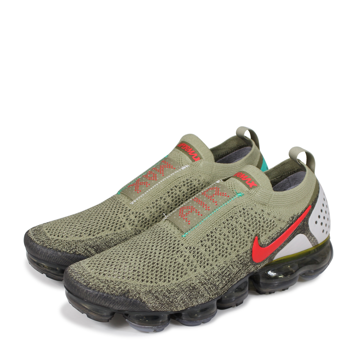 buy online 16a88 2f3d9 NIKE AIR VAPORMAX FK MOC 2 Nike air vapor max fried food knit 2 sneakers  men AH7006-200 olive [load planned Shinnyu load in reservation product 6/15  ...