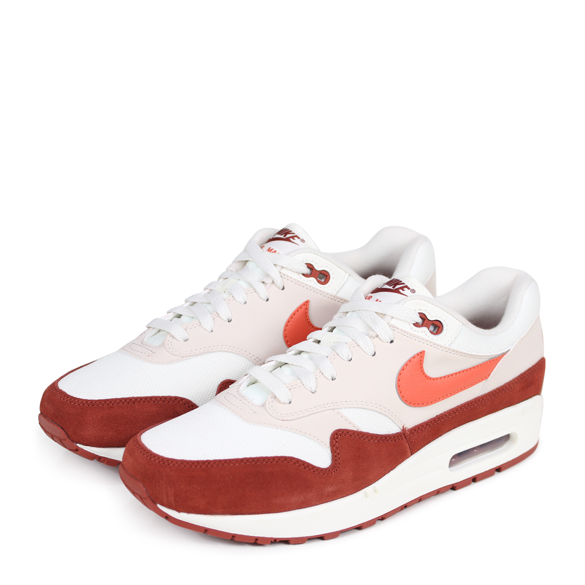 NIKE AIR MAX 1 Kie Ney AMAX 1 sneakers men AH8145 104 off white [load planned Shinnyu load in reservation product 413 containing] [184]
