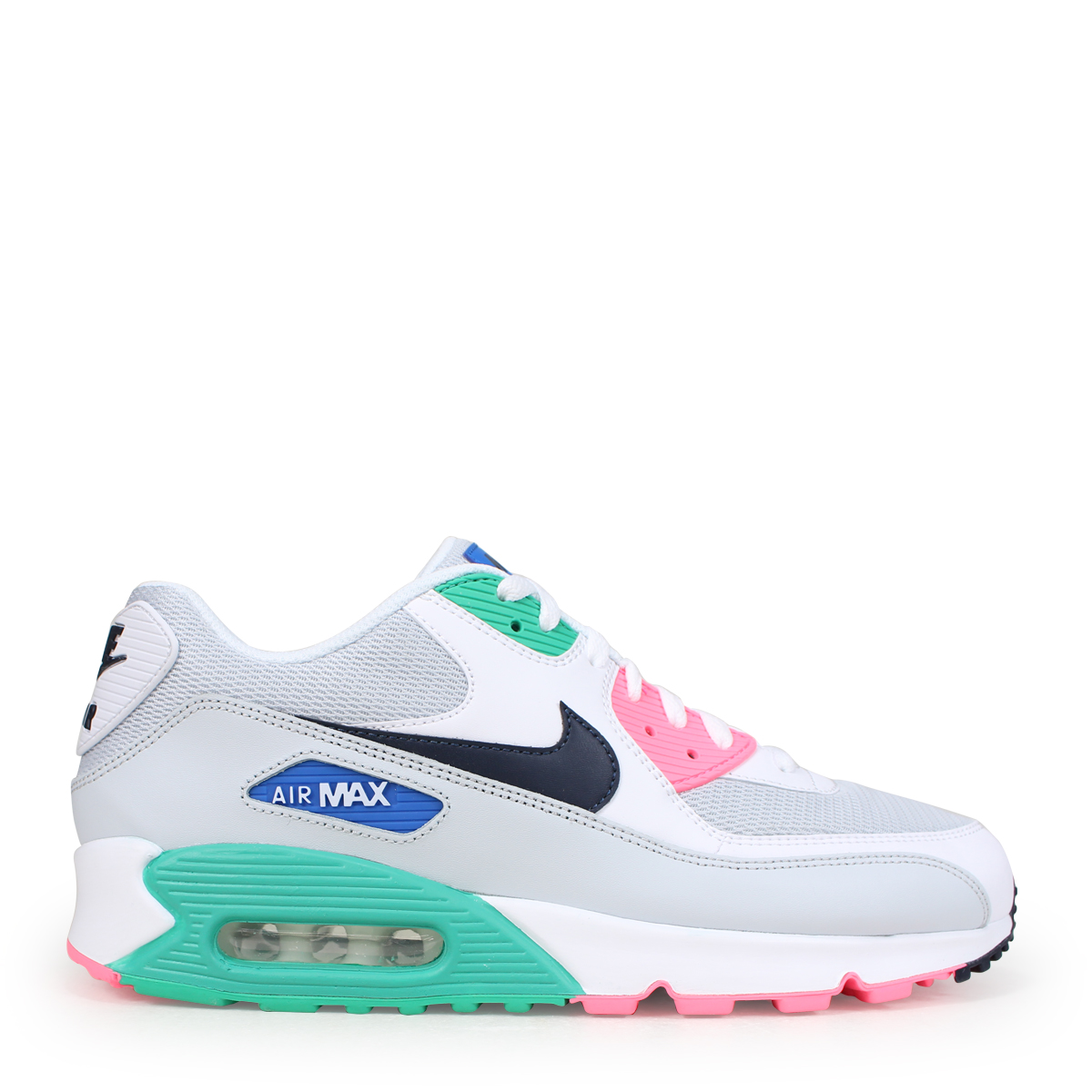 99ba8d11025fd NIKE AIR MAX 90 ESSENTIAL Kie Ney AMAX 90 essential sneakers men AJ1285-100  white  load planned Shinnyu load in reservation product 6 15 containing    186