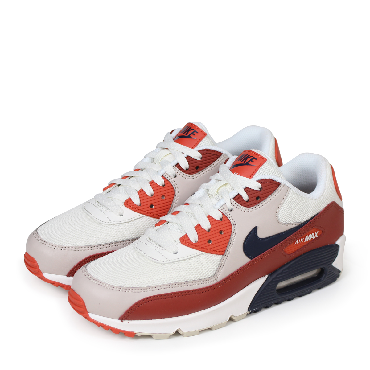 wholesale dealer 6918d 33aba NIKE AIR MAX 90 ESSENTIAL Kie Ney AMAX 90 essential sneakers men gap Dis  AJ1285-600 white  load planned Shinnyu load in reservation product 5 19  containing  ...