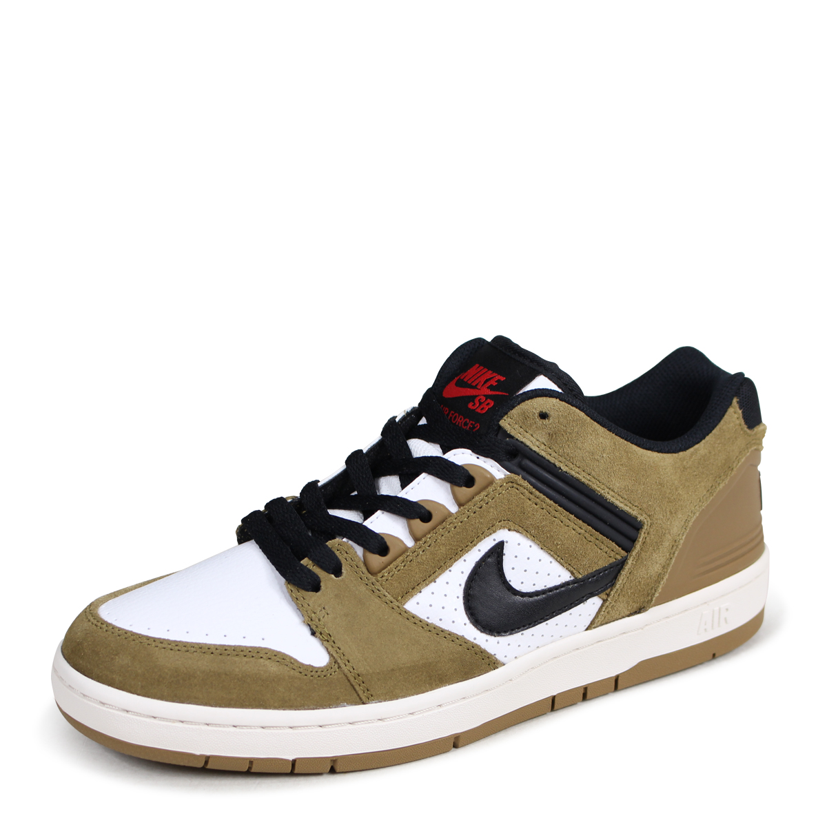 NIKE SB AIR FORCE 2 LOW ESCAPE Nike air force 2 sneakers men 917,753 700 brown [load planned Shinnyu load in reservation product 61 containing] [185]
