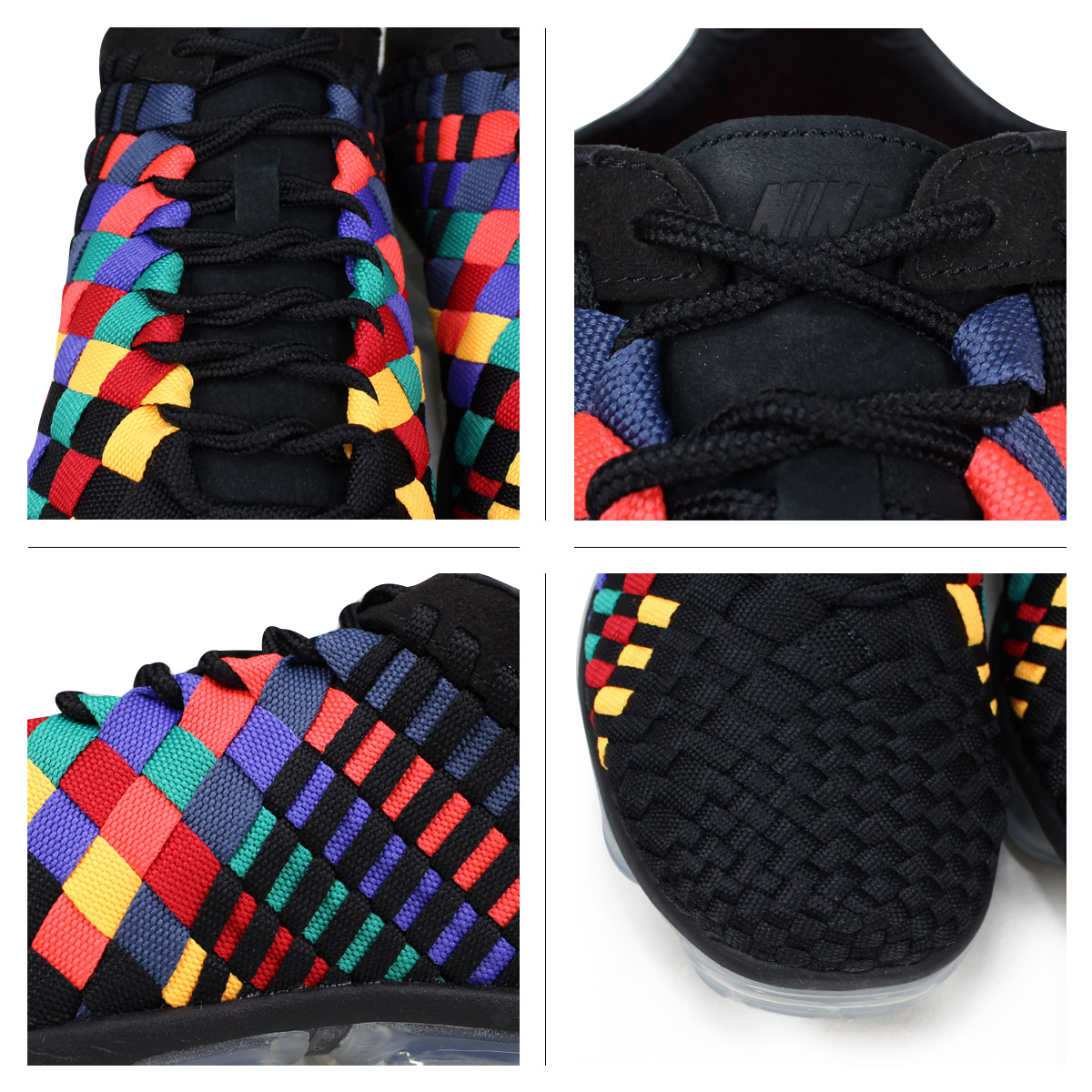 25b36341994 NIKE AIR VAPORMAX INNEVA Nike air vapor max sneakers men AO2447-001 black   6 16 Shinnyu load   186