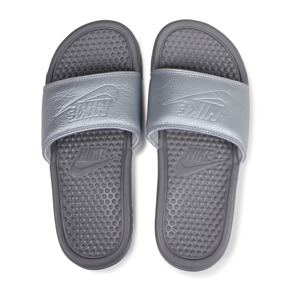 451b9a7b0 ... buy nike wmns benassi just do it bp nike sandals ao4642 001 silver load  planned 593f6
