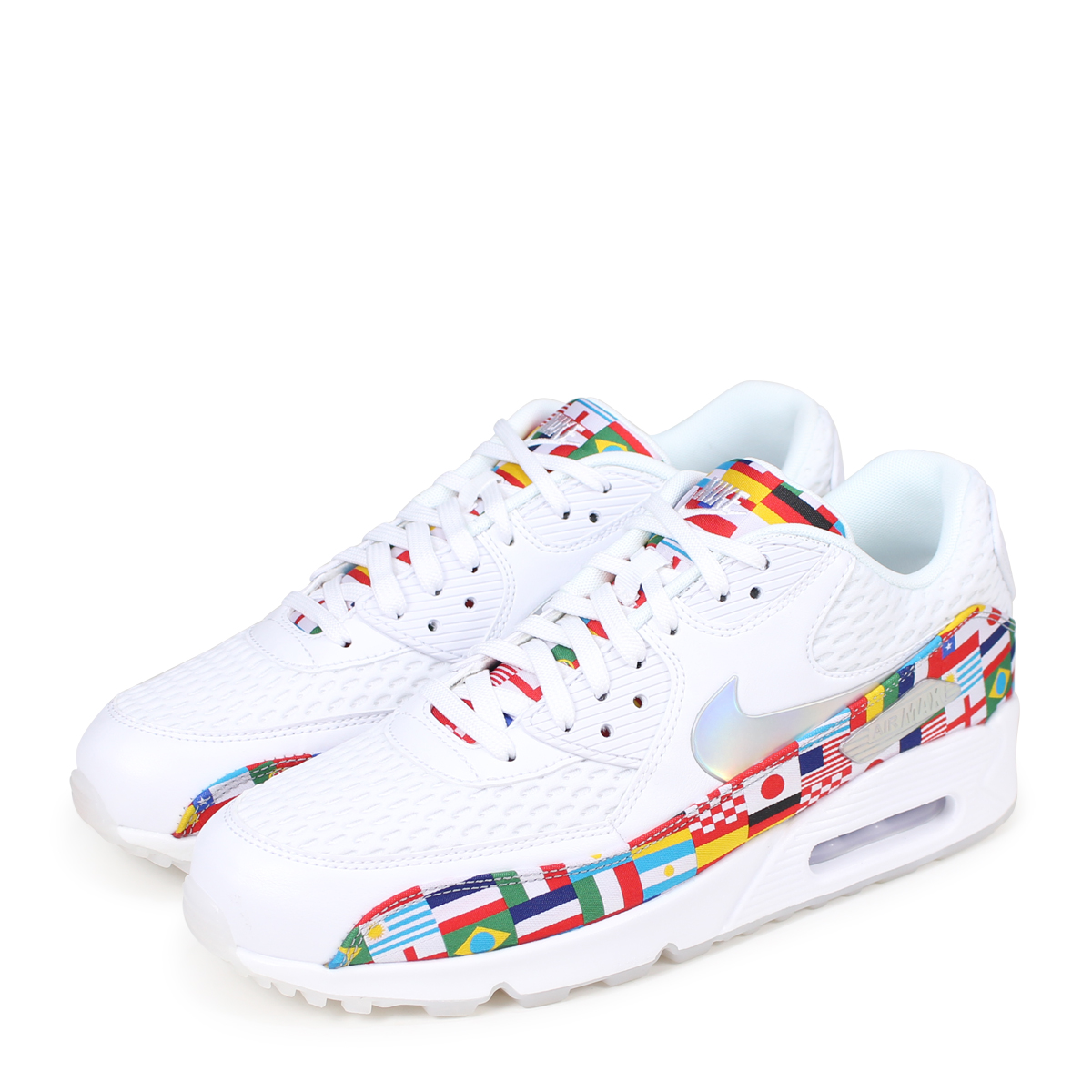 online store e3421 780da NIKE AIR MAX 90 NIC QS Kie Ney AMAX 90 sneakers men AO5119-100 white [load  planned Shinnyu load in reservation product 6/16 containing] [186]