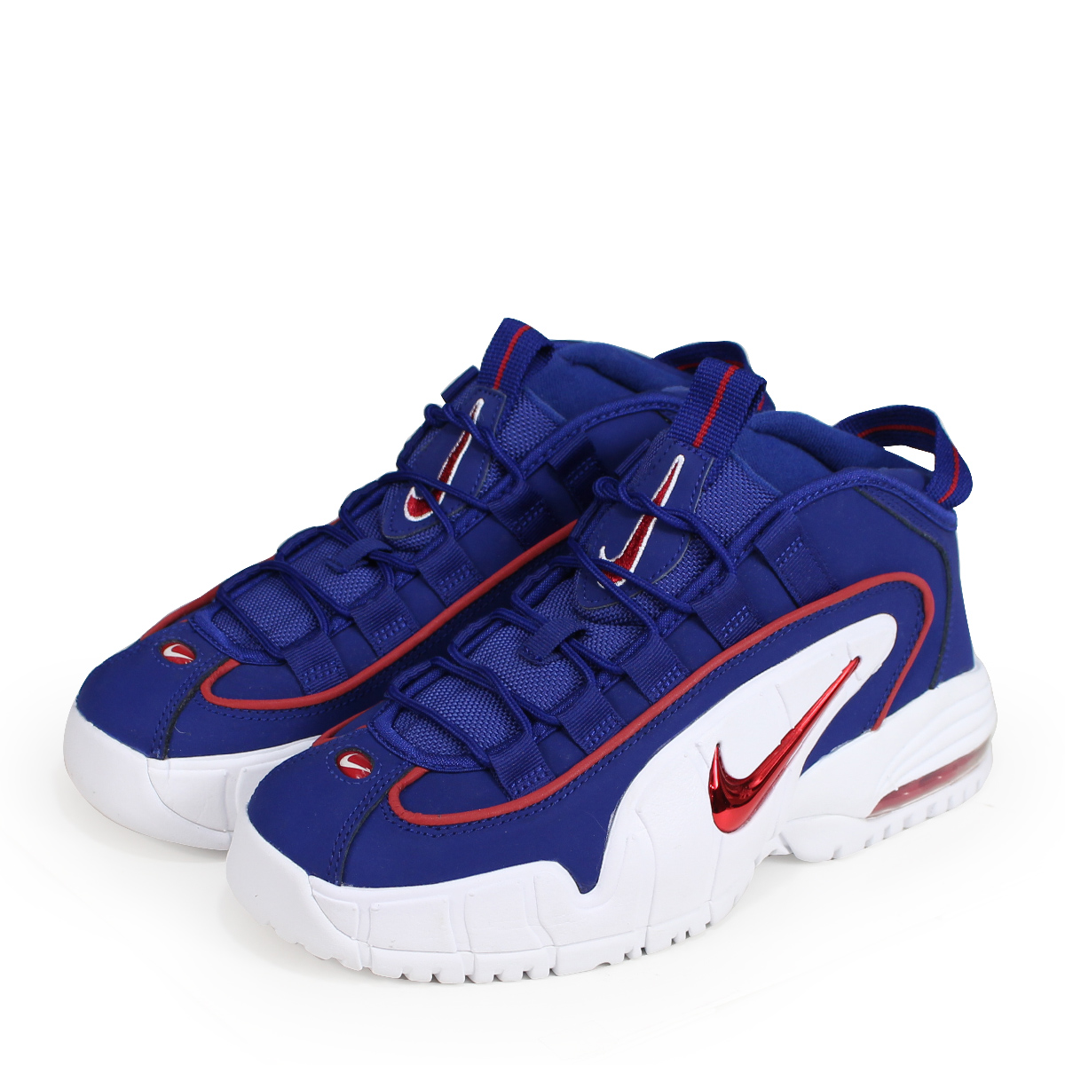 hot sales 54b1c 8d788 Nike NIKE Air Max penny Lady's sneakers AIR MAX PENNY LE GS 315,519-400  blue [197]