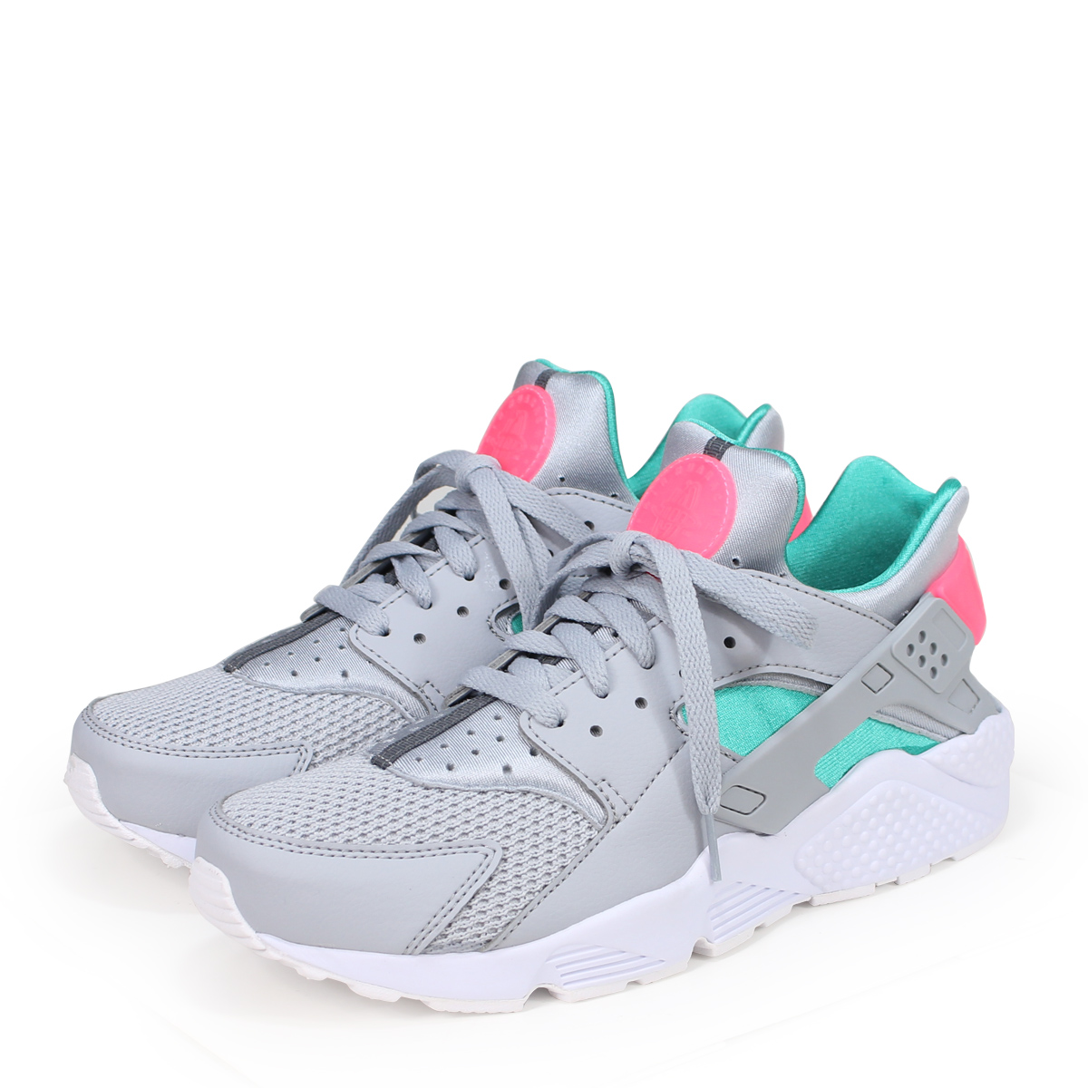 Men's Shoes Careful Blue Nike Air Huraches Size 2 Good Taste