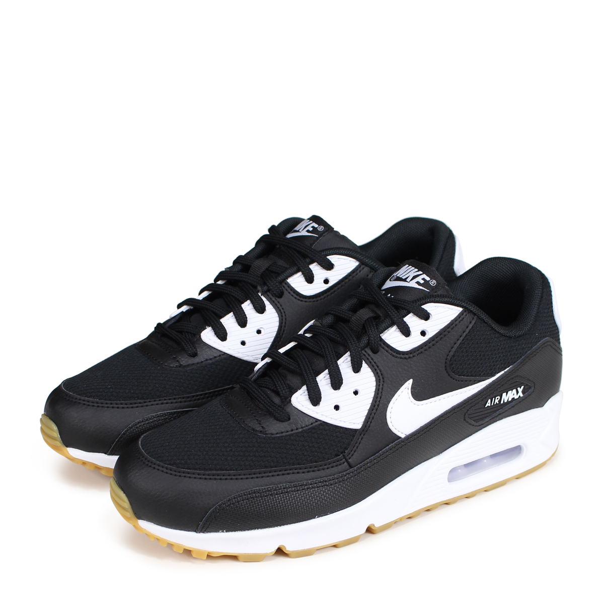 NIKE WMNS AIR MAX 90 Kie Ney AMAX 90 lady's men's sneakers 325,213 055 black [load planned Shinnyu load in reservation product 720 containing] [187]
