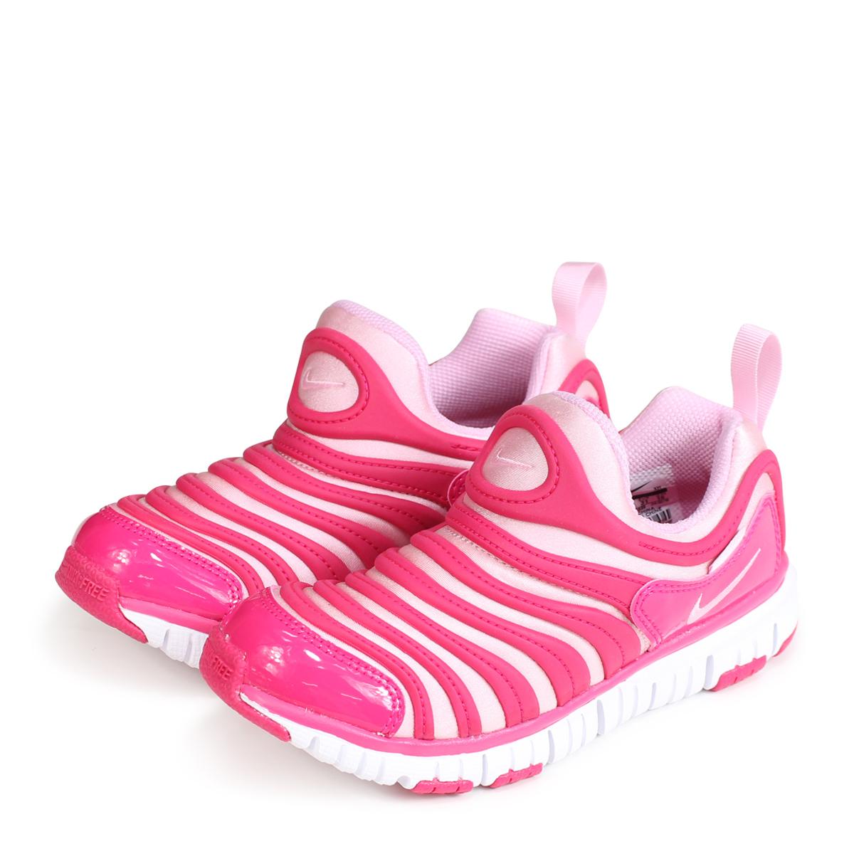 new concept 92d9b 5ea3c NIKE DYNAMO FREE PS Nike dynamo-free kids sneakers 343,738-626 pink  load  ...