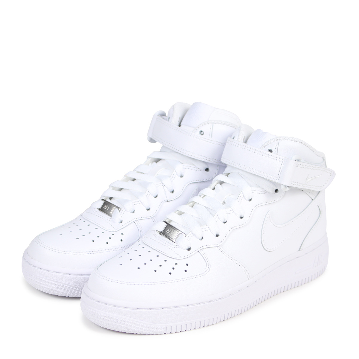 NIKE Nike Air Force sneakers Womens WMNS AIR FORCE 1 MID 07 air force 1 mid 366731 100 men's shoes white [82 Add in stock]