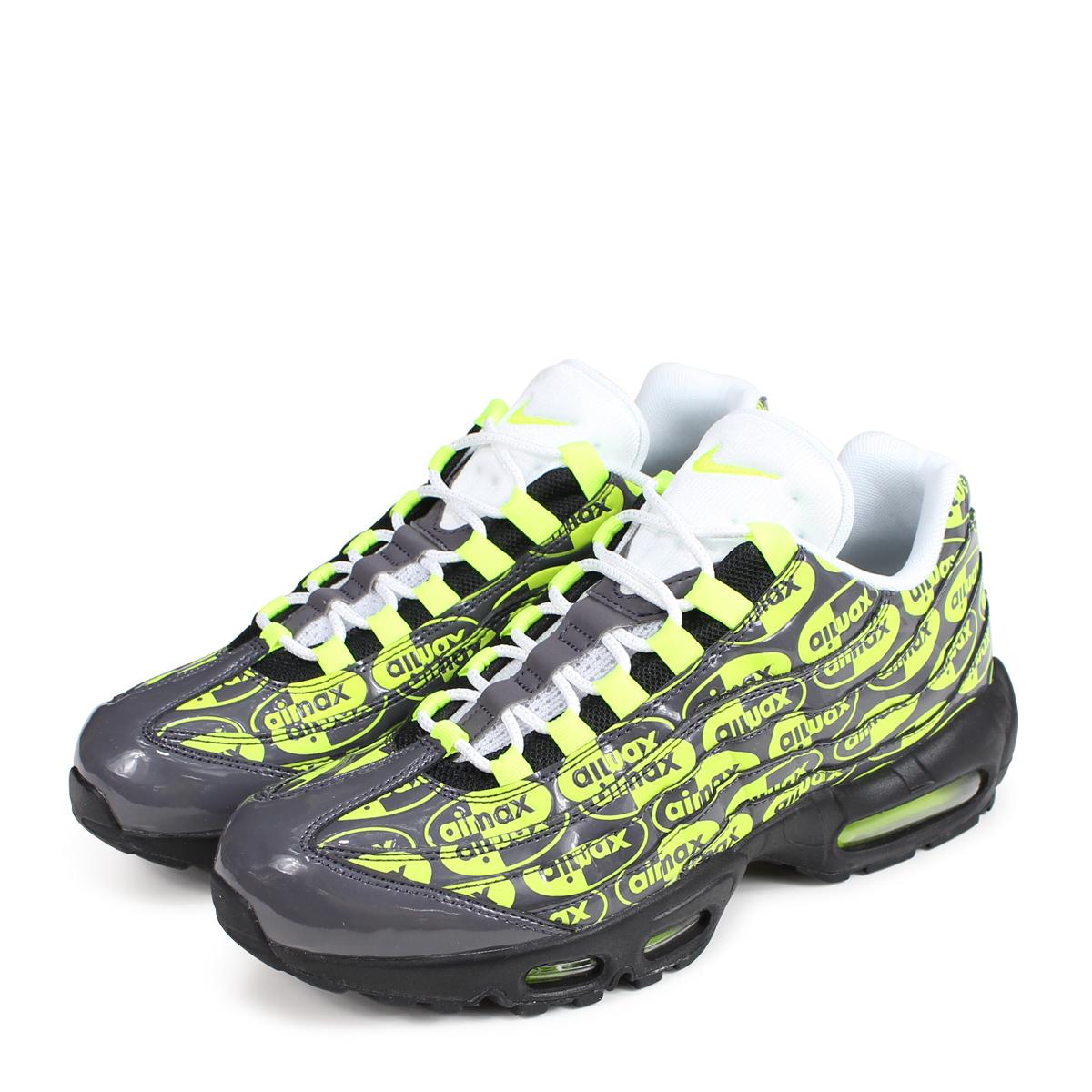 the latest 55227 844dc Nike NIKE Air Max 95 sneakers men AIR MAX 95 PREMIUM 538,416-019 black black