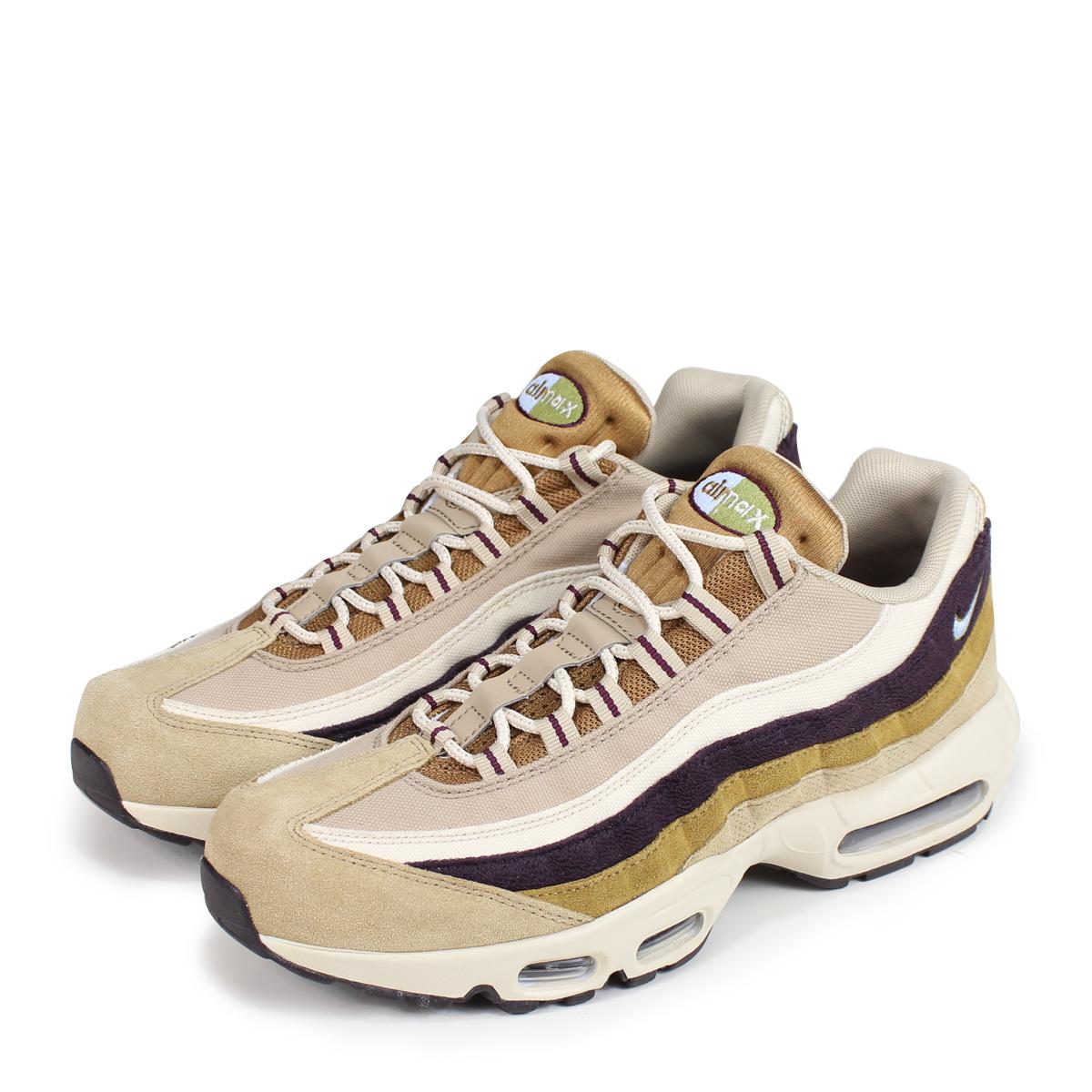 64c7dee2bd NIKE AIR MAX 95 PREMIUM Kie Ney AMAX 95 sneakers men 538,416-205 brown ...