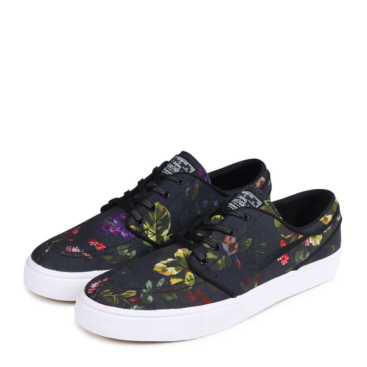 775ada1bf1311 NIKE SB ZOOM STEFAN JANOSKI CANVAS ナイキステファンジャノスキースニーカーメンズ 615,957-900 black  [load planned Shinnyu load in reservation product 8/11 containing] [187]