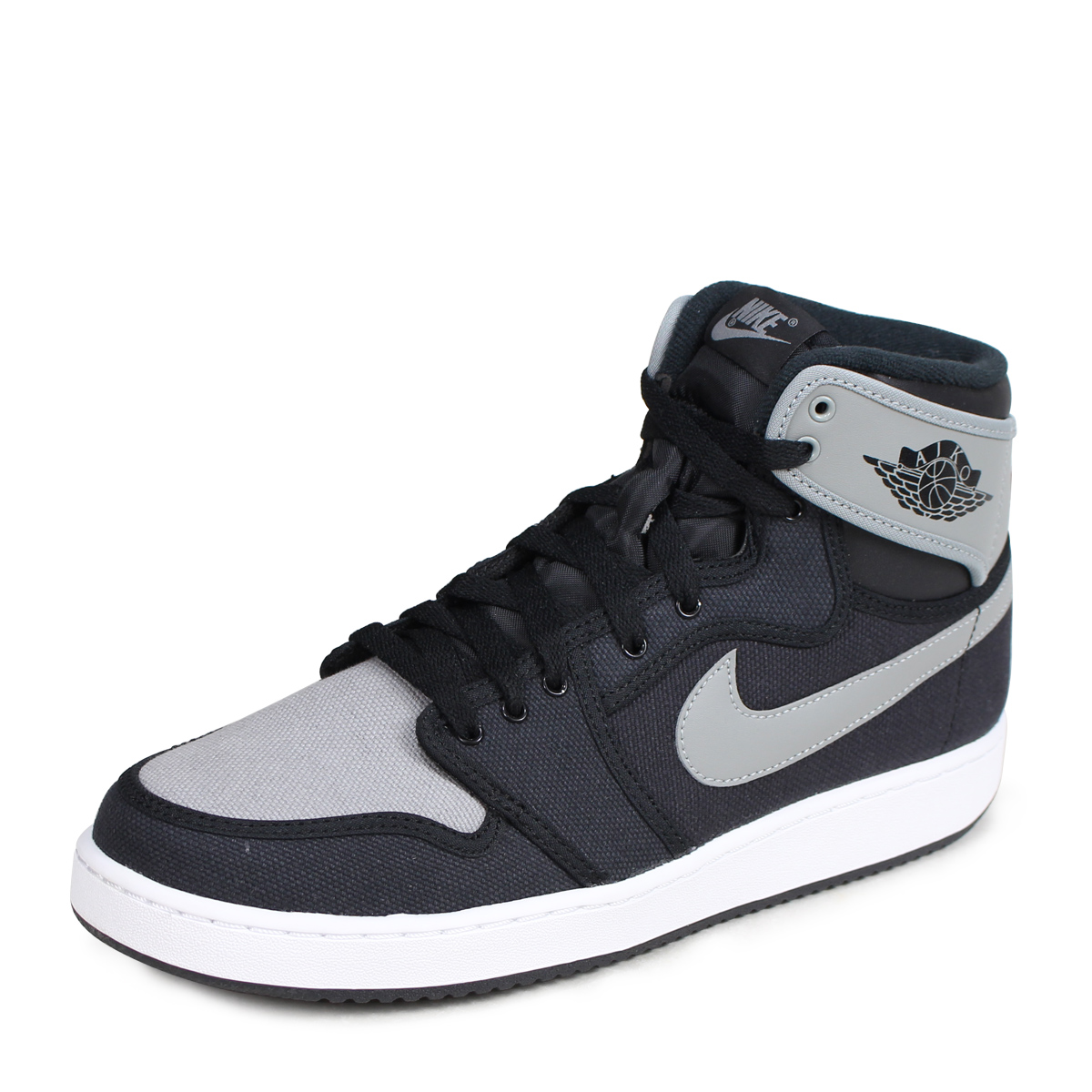 promo code da156 92b06 Nike NIKE Air Jordan sneakers AIR JORDAN 1 RETRO KO HI OG Air Jordan 1  retro Hi 638471-003 men's shoes black grey