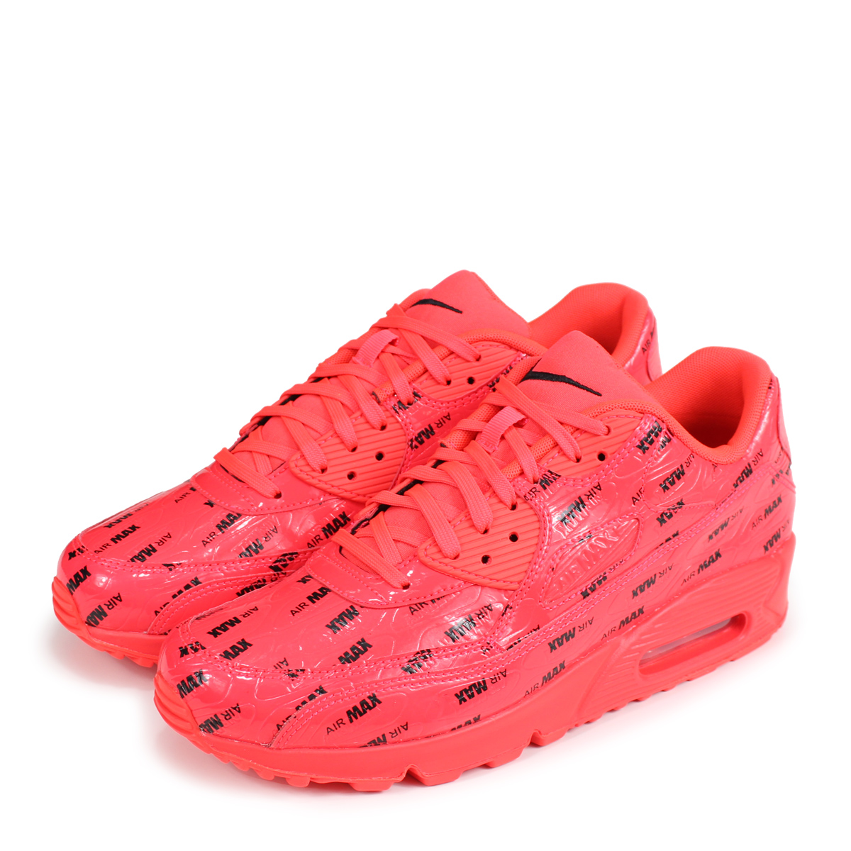 Nike NIKE Air Max 90 sneakers men gap Dis AIR MAX 90 PREMIUM 700,155 604 red red [the 1113 additional arrival]