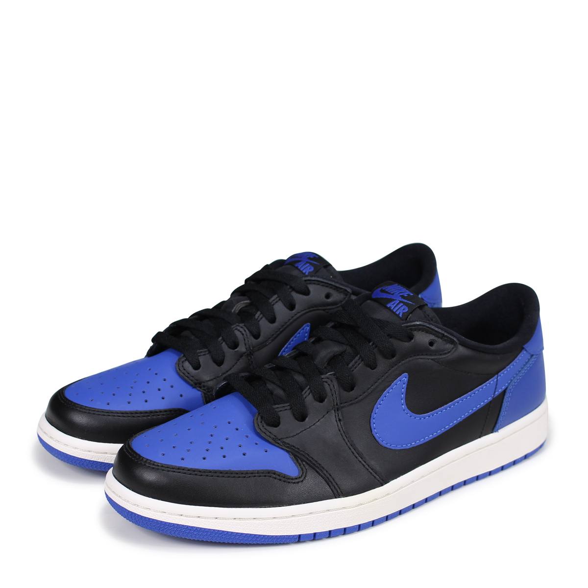 NIKE AIR JORDAN 1 RETRO LOW OG Nike Air Jordan sneakers men Air Jordan 1 nostalgic low 705,329 004 blue [186]
