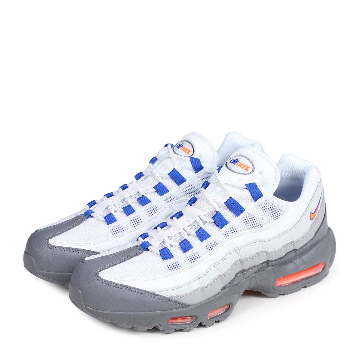 NIKE AIR MAX 95 ESSENTIAL Kie Ney AMAX 95 essential sneakers men 749,766-033 gray [load planned Shinnyu load in reservation product 6/29 containing] [186]