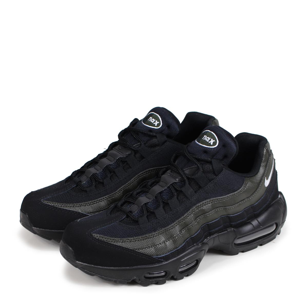 d1c2defb85 Nike NIKE Air Max 95 essential sneakers men AIR MAX 95 ESSENTIAL  7,497,664-034 black ...