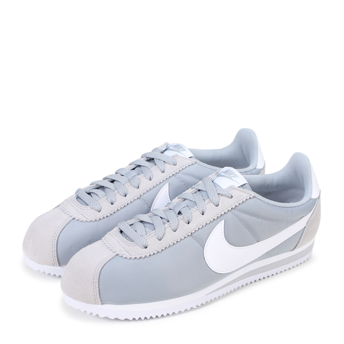 super popular 4f2db a4326 Nike NIKE classic Cortez sneaker CLASSIC CORTEZ NYLON 807472-010 Wolf grey  mens womens shoes grey