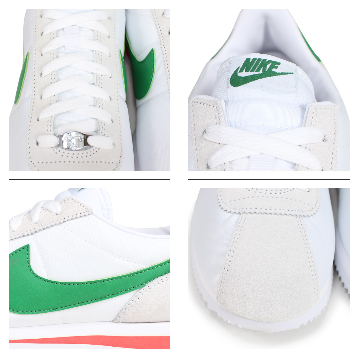 innovative design a815b f25c3 NIKE CORTEZ BASIC NYLON ナイキコルテッツスニーカーメンズ 819,720-103 white  load planned  Shinnyu load in reservation product 7 19 containing   187
