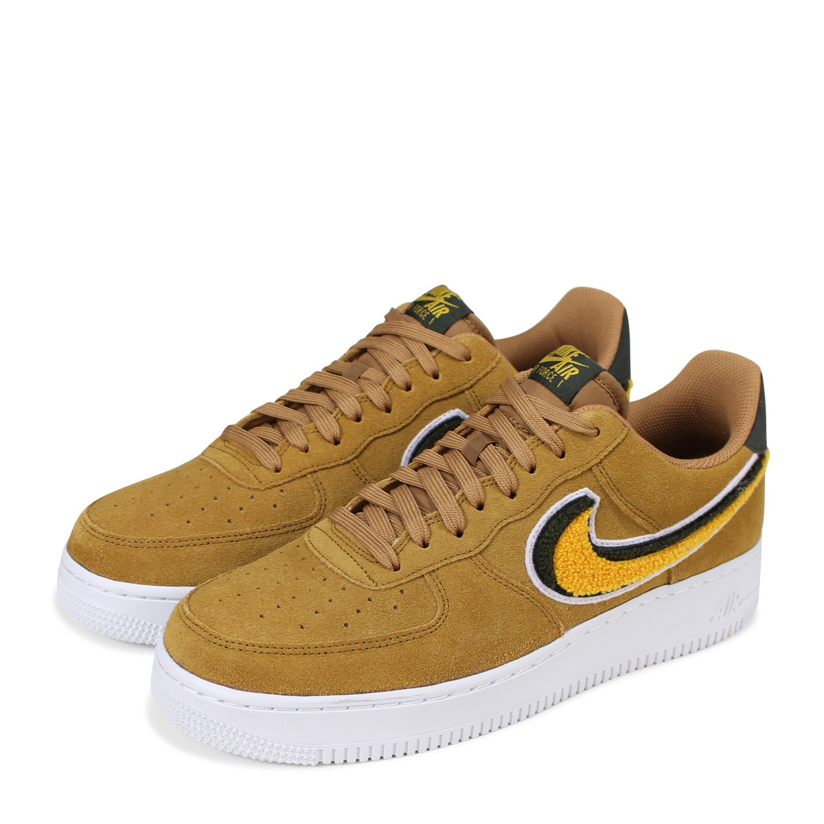 NIKE AIR FORCE 1 07 LV8 Nike air force 1 sneakers men 823,511 204 brown [load planned Shinnyu load in reservation product 628 containing] [186]