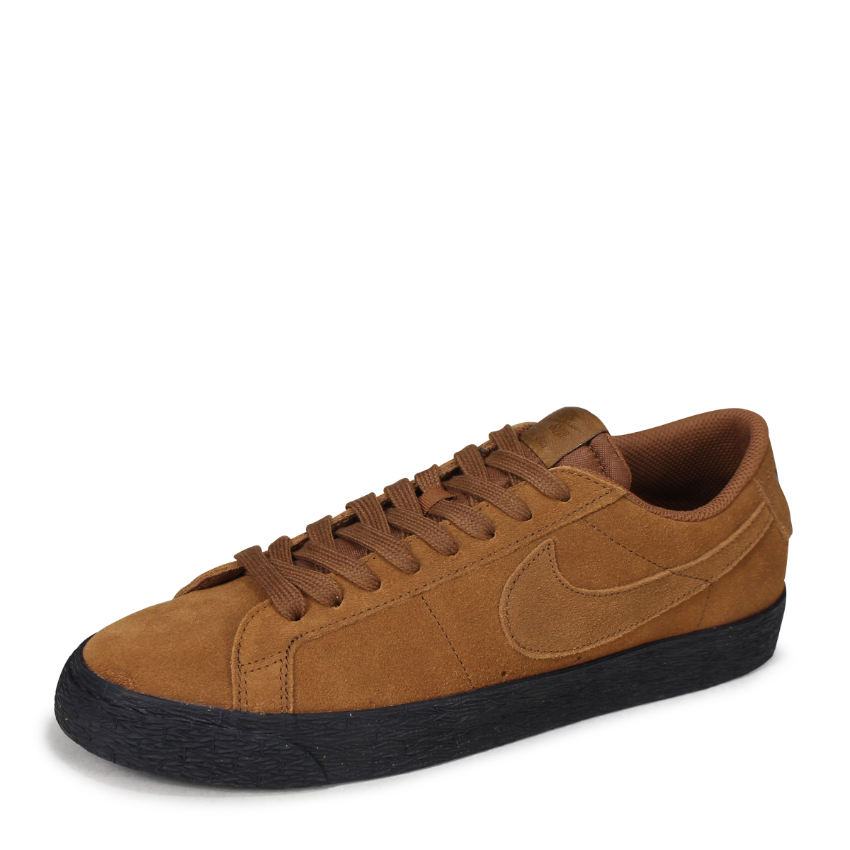 finest selection a84d6 211d5 NIKE SB ZOOM BLAZER LOW Nike blazer low sneakers men 864,347-200 brown  [7/13 Shinnyu load] [187]