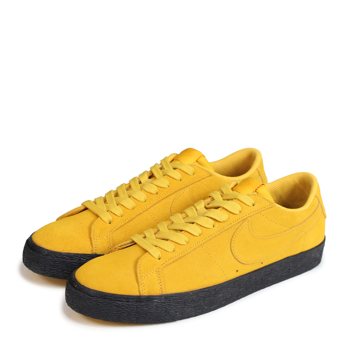 Nike NIKE SB blazer low sneakers men ZOOM BLAZER LOW 864,347 701 yellow