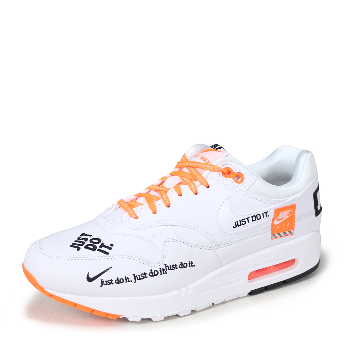 NIKE WMNS AIR MAX 1 LX Kie Ney AMAX 1 lady's men's sneakers 917,691 100 white [load planned Shinnyu load in reservation product 713 containing] [187]
