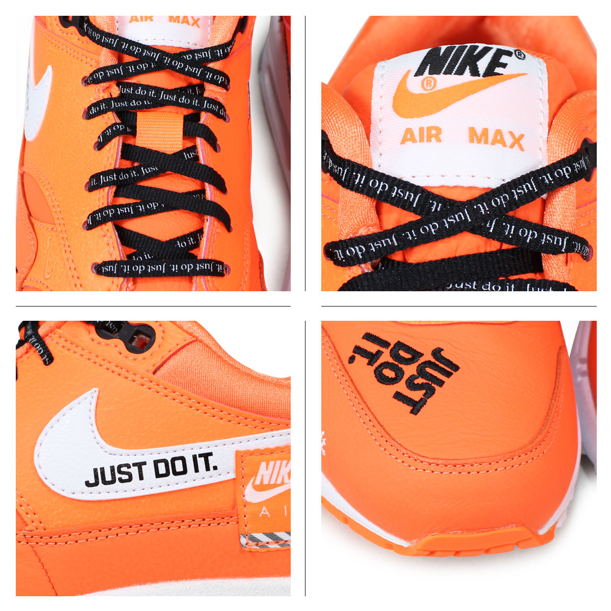 9ad23b1564 ... Nike NIKE Air Max 1 lady's men's sneakers WMNS AIR MAX 1 LX 917,691-800  ...
