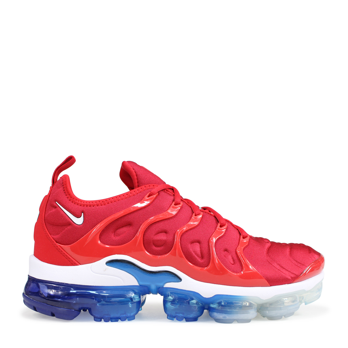 cheap for discount ea9fd 7957a NIKE AIR VAPORMAX PLUS Nike air vapor max plus sneakers men 924,453-601 red  [load planned Shinnyu load in reservation product 8/18 containing] [188]