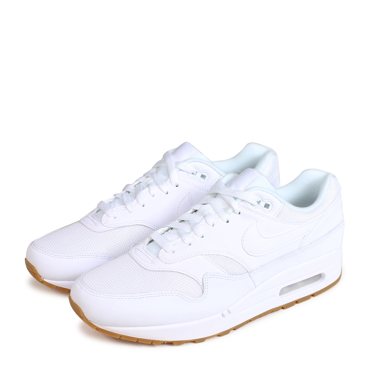 NIKE AIR MAX 1 Kie Ney AMAX 1 sneakers men AH8145 109 white [load planned Shinnyu load in reservation product 724 containing] [187]